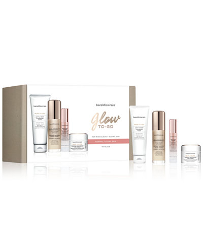 bareMinerals 4-Pc. Glow-To-Go Skincare Starter Set