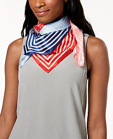 Echo Dotty Silk Square Bandana Scarf