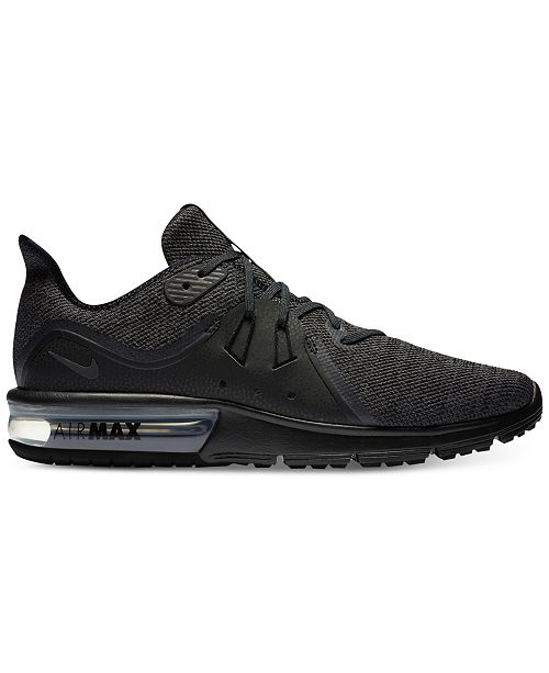 Nike Men's Air Max Sequent 3 Running Sneakers from Finish