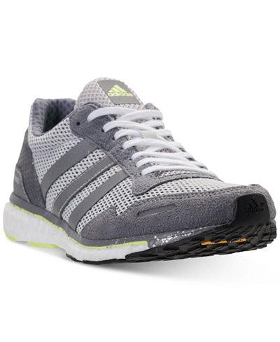 adidas Women's Adizero Adios 3 Running Sneakers from Finish Line