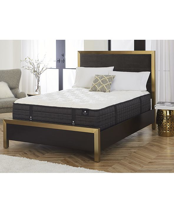 """Hotel Collection by Aireloom 14"""" Vitagenic Holland Maid Latex Luxury Firm Mattress Set, Created for Macy's - California King"""
