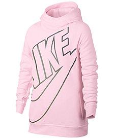 Nike Sportswear Modern Logo-Print Hoodie, Big Girls