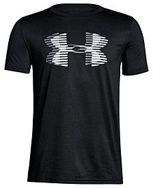 Under Armour Logo-Print T-Shirt, Big Boys