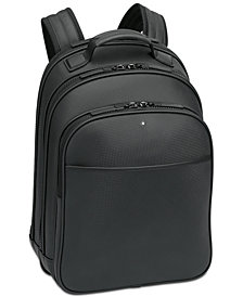 Montblanc Extreme Rucksack Small Black Leather Backpack