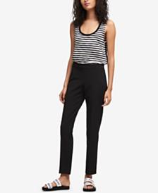 DKNY Straight-Leg Pants