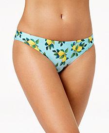 Nanette by Nanette Lepore Limonata Printed Hipster Bikini Bottoms