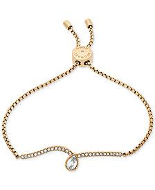 Michael Kors Crystal Slider Bracelet