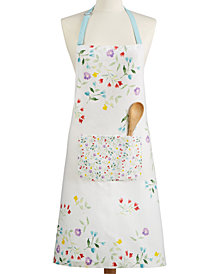 Martha Stewart Collection Flower Patch Apron, Created for Macy's