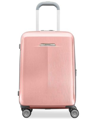 """Mystique 21"""" Hardside Expandable Carry-On Spinner Suitcase, Created for Macy's"""