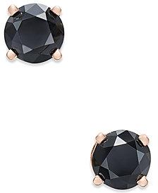 Diamond Stud Earrings (3/4 ct. t.w.) in 14k Rose Gold