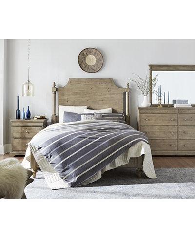 Martha Stewart Collection Bergen Bedroom Furniture, Created for ...