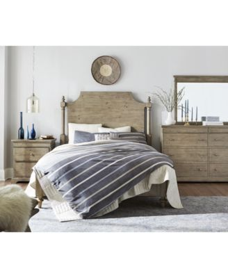 Charmant ... And Modern Design Aesthetics Reflected By The French  Provincial Inspired Look And Chic Weathered Oak Finish Of Martha Stewart  Collection Bergen Bedroom ...