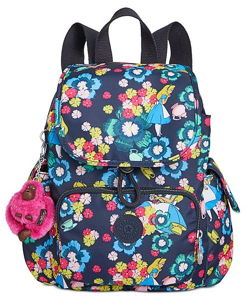 a6d486b785b ... Kipling Disney s reg  Alice in Wonderland City Pack Extra Small  Backpack ...