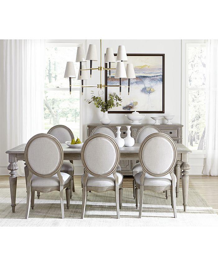 Furniture Elina Expandable Dining, Macys Dining Room Furniture