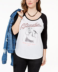 Hybrid Plus Size Blondie Graphic T-Shirt