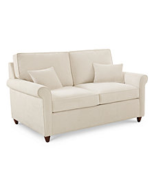"Lidia 62"" Fabric Loveseat, Created for Macy's"