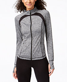 Ideology Performance Zip Jacket, Created for Macy's