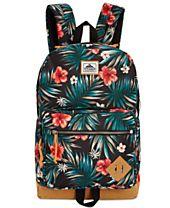 Steven Madden Men's Floral-Print Backpack