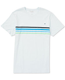 Billabong Men's Team Stripe-Print Pocket T-Shirt