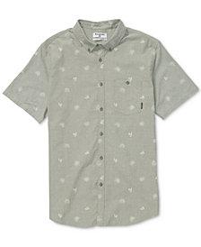 Billabong Men's Sunday Mini-Print Button Down Shirt