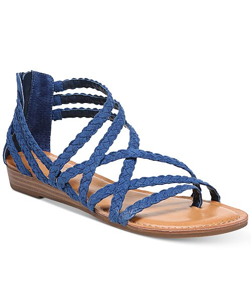 8b1459f63b13 Carlos by Carlos Santana Amara Braided Flat Sandals   Reviews ...