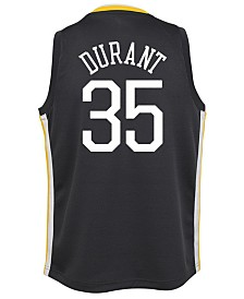 Nike Kevin Durant Golden State Warriors Statement Swingman Jersey, Big Boys (8-20)