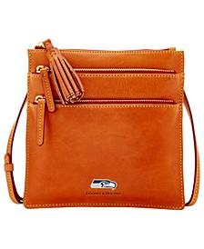 Seattle Seahawks Florentine Triple Zip Crossbody Bag