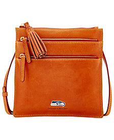 Dooney & Bourke Seattle Seahawks Florentine Triple Zip Crossbody Bag