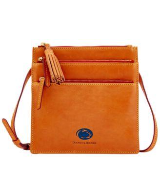 Penn State Nittany Lions Florentine Triple Zip Crossbody Bag