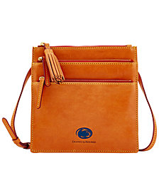 Dooney & Bourke NCAA Florentine Triple Zip Crossbody