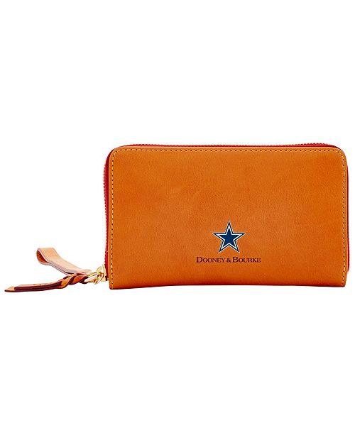 Dooney & Bourke Dallas Cowboys Florentine Zip Around Wallet