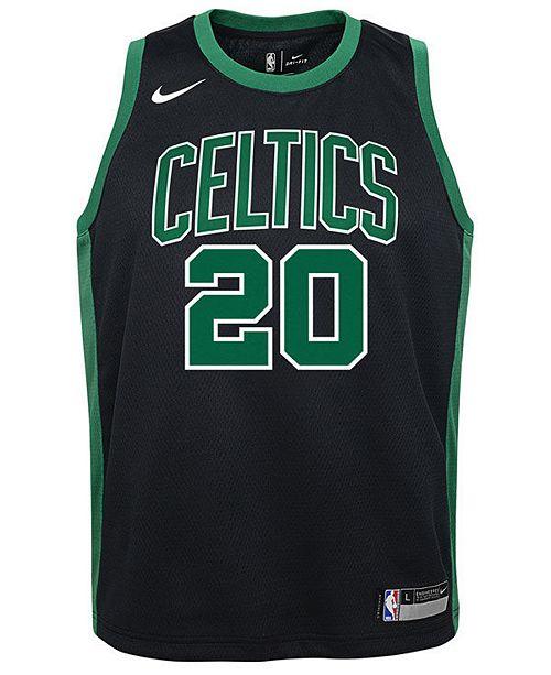best loved 8cd59 3e330 Gordon Hayward Boston Celtics Statement Swingman Jersey, Big Boys (8-20)