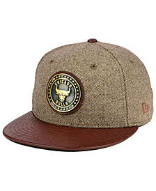 New Era Chicago Bulls Butter Badge 9FIFTY Snapback Cap