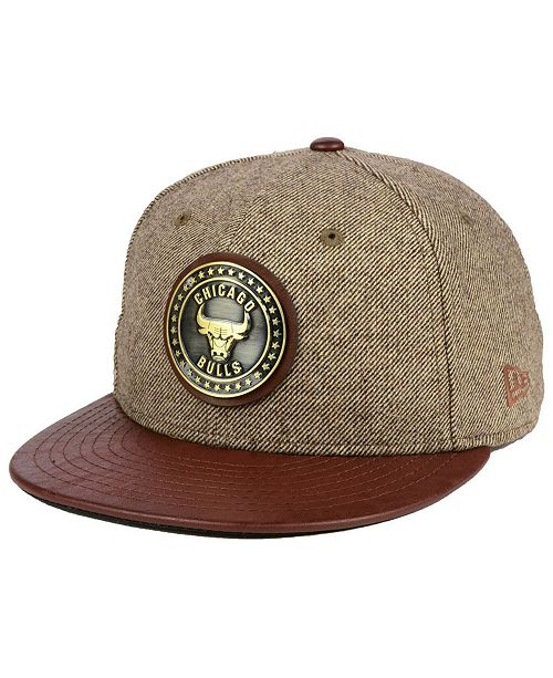 bea3ffab204 ... New Era Chicago Bulls Butter Badge 9FIFTY Snapback Cap ...