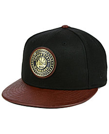 New Era Golden State Warriors Butter Badge 9FIFTY Snapback Cap
