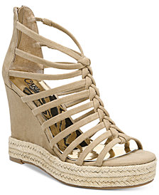 Carlos by Carlos Santana Camilla Platform Wedge Sandals