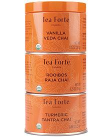 Tea Forté Chakra Tea Trio