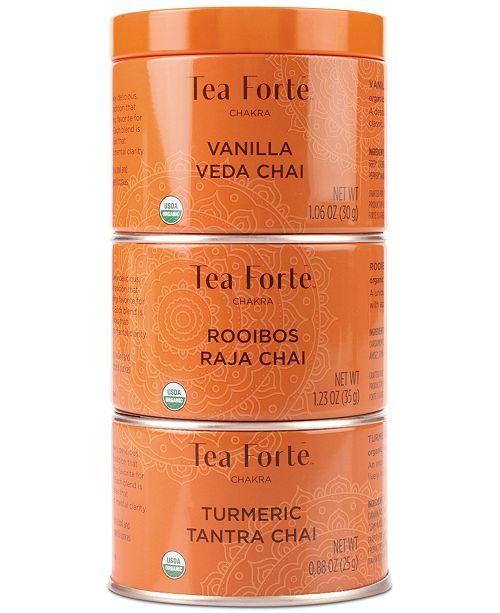 Tea Forte Tea Forté Chakra Tea Trio
