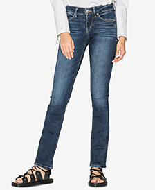 Silver Jeans Co. Juniors' Avery Curvy-Fit Barely Bootcut Jeans