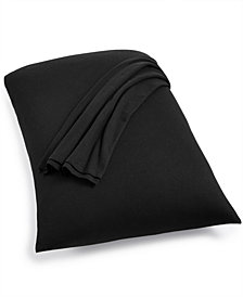 Calvin Klein Modern Cotton Harrison Black Standard Pillowcases