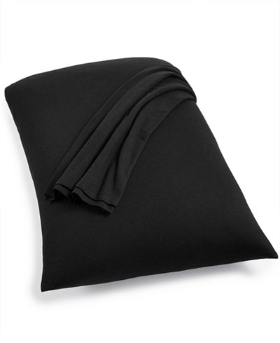 Calvin Klein Modern Cotton Harrison Black Set of 2 King Pillowcases