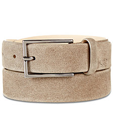 Hugo Boss Men's Gavrilo Suede Belt