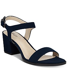 Style & Co Mollee Block-Heel Sandals, Created for Macy's