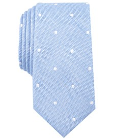 Men's Reuther Dot Skinny Tie, Created for Macy's