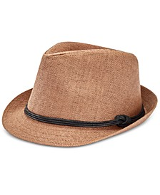 Men's Straw Fedora