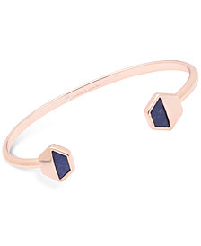 Ivanka Trump Geometric Stone Cuff Bangle Bracelet