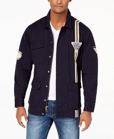 Sean John Men's Patch Field Jacket, Created for Macy's