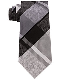Kenneth Cole Reaction Men's Grande Plaid Silk Tie