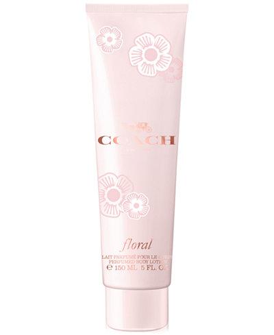 COACH Floral Perfumed Body Lotion, 5 oz.
