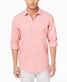 I.N.C. Men's Linen Shirt, Created for Macy's